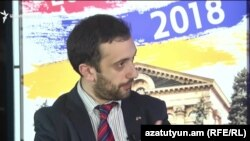 Armenia - Daniel Ioannisian of the Union of Informed Citizens talks to Azatutyun TV, Yerevan,10Dec2018