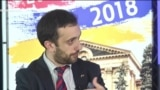 Представитель организации «Независимый наблюдатель» Даниэл Иоаннисян в студии Азатутюн ТВ, Ереван, 10 декабря 2018 г.