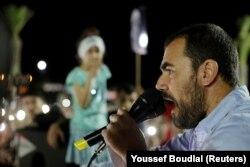 ناصر زفزافی، رهبر جنبش حراک