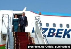 Шавкат Мирзиёев 5 сентябрь куни Бишкекка Ўзбекистон президенти самолётида борган эди.