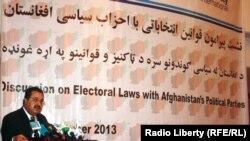 Zv. shef i Komisionit të Zgjedhjeve, Abdul Rahman Hotaki
