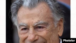 U.S. -- Kirk Kerkorian, a U.S. billionaire of Armenian descent, undated.