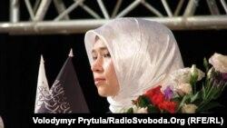 Учасниця конференції «Актуальні проблеми мусульманки в сучасному демократичному суспільстві»