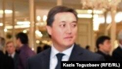 Аскар Мамин в бытность президентом компании «Казахстан темир жолы».