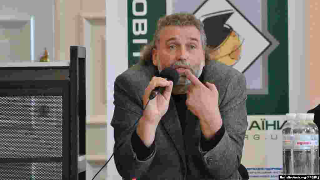 Олександр Олійник, голова конкурсної комісії