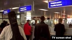 Pasoška kontrola na aerodromu u Sarajevu