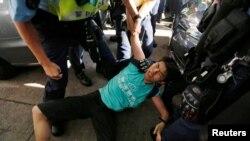 Затримання активістів у Гонконгу напередодні ювілею, 30 червня 2017 року