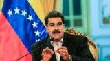 Wenesuelanyň häkimiýet başynda galmakçy bolýan prezidenti Nikolas Maduro.