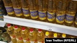 Цены на подсолнечное масло в Москве