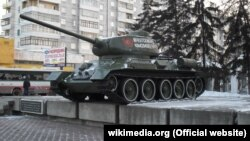 "Танк Т-34 ""Иркутский комсомолец"""