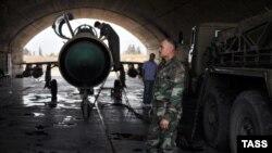 На старючих радянських МіГ-21 досі воюють урядові ВПС Сирії, фото 2015 року