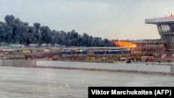 Катастрофа в московском аэропорту Шереметьево, 5 мая 2019 года.