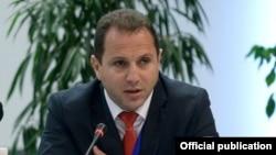 Первый заместитель министра обороны Армении Давид Тоноян (архив)