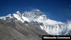World -- World highest mountain Mt. Everest, undated