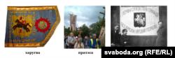 Беларускія назвы тыпаў сьцягоў