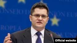 Serbian Foreign Minister Vuk Jeremic (file photo)