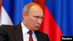Владимир Путин в Белграде. 16 октября 2014 г.