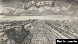 Одно из самых известных мест в Петербурге - Летний дворец и Летний сад
