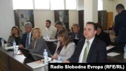 Седница на Совет на општина Охрид.