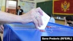 Ilustrim nga votimet në Mal të Zi
