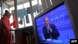 Путин на сесијата на прашања и одговори емитувана на државните медиуми