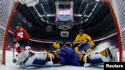 Hokej, meč Kanade i Švedske u Sočiju