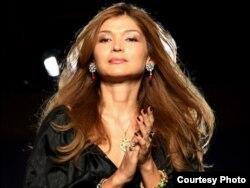 Өзбекстан президенті Ислам Каримовтың үлкен қызы Гүлнара.