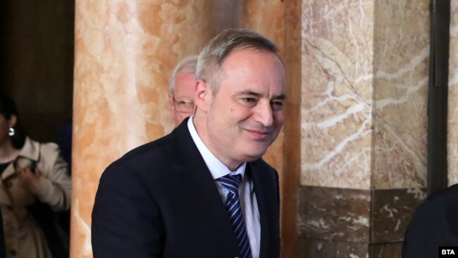 Ректорът на Софийския университет проф. Анастас Герджиков