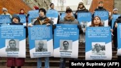 Акція на підтримку утримуваних в Росії українців ,11 грудня 2018 року, Київ