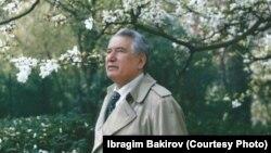 Чыңгыз Айтматов (1928--2008).