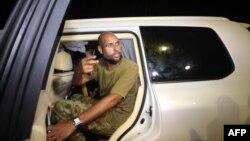 Сеиф ал-Ислам Гадафи, син на убиениот либиски лидер Моамер Гадафи.