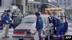 Agjentët e FBI-së në një skenë krimi