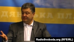 Ukrayna prezidenti Petro Poroshenko.