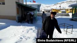 Этнические кыргызы из турецкой провинции Ван отправляют гуманитарную помощь в сирийский город Алеппо, 23 декабря 2016 года.