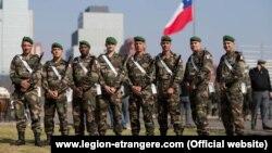 Иностранный легион в Чили. Фото из сайта www.legion-etrangere.com.