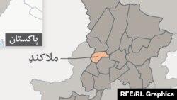 د ملاکنډ نقشه