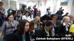 Журналисты Кыргызстана. Иллюстративное фото.