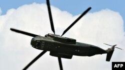 Военный вертолет Sikorsky CH 53. Иллюстративное фото.