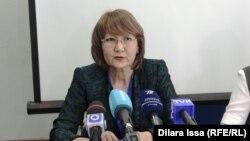 Нуршай Азимбаева, специалист министерства здравоохранения.