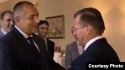 Vicepremierul rus Victor Zubkov primit de Boiko Borisov