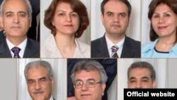 رهبران بهایی در ایران که در زندان به سرمی برند