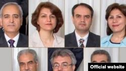 هفت رهبر جامعه بهایی ایران که در زندان اوین به سر میبرند.