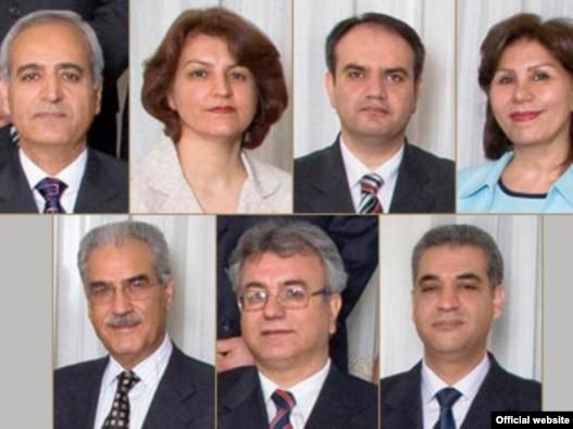 هفت رهبر جامعه بهاییان ایران که هماکنون در زندان به سر میبرند