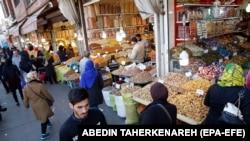 Tehran, köhnə bazar, 4 mart, 2019