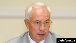 Ukraine -- Head of Ukrainian Government Mykola Azarov held a Cabinet meeting, Kyiv, 20Jul2011
