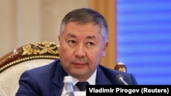 Канатбек Исоев, раиси порлумони Қирғизистон.