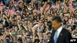 """Obama told Berliners the U.S. """"still sacrifices greatly for freedom around the globe"""""""