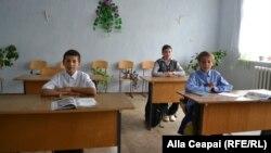 Clasa a 5-a la şcoala din Sirota