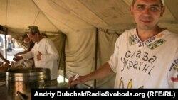 Приготування обіду у підрозділі Збройних сил України