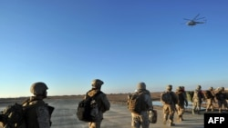 The announced exodus of U.S. troops from Afghanistan has met with a mixed resonse in the country.